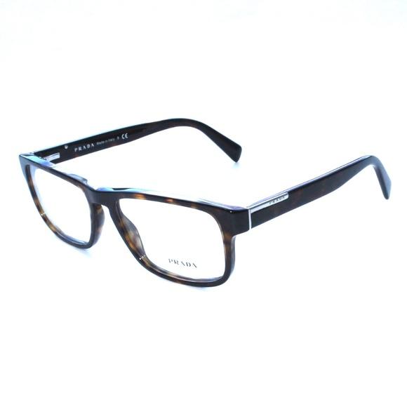 304de59ead55 PRADA Eyeglasses VPR 07P 56/17 2AU-101 Dark Tort. M_5ab6a9e631a376bee20acd6c